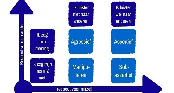uitleg van assertiviteit